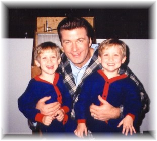 Alec Baldwin and the Pepi Twins